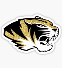 Missouri Tiger Glitter Sticker