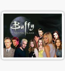 Buffy the Vampire Slayer TV Show Cast Sticker