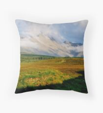 The Black Cuillin Throw Pillow