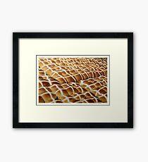 hot cross Framed Print