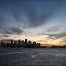 Sydney Sunset by Kim Roper