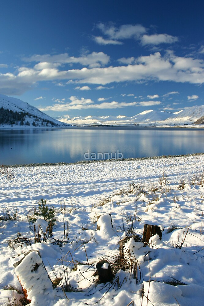 Snow on the Shore by dannyb
