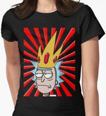 king tiny rick Womens Fitted T-Shirt