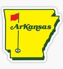Golf Arkansas Sticker