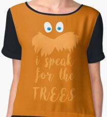 lorax speak Chiffon Top