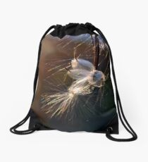 Flight Drawstring Bag
