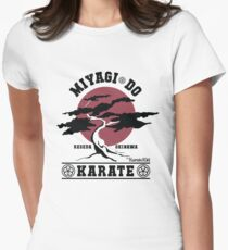 Karate Kid - Miyagi Do Womens Fitted T-Shirt