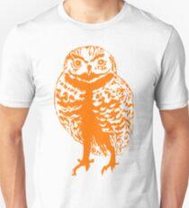 Borrowing Owl Illustration Unisex T-Shirt