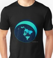 #FLATEARTH Original Azimuthal Map with Dome Design Unisex T-Shirt