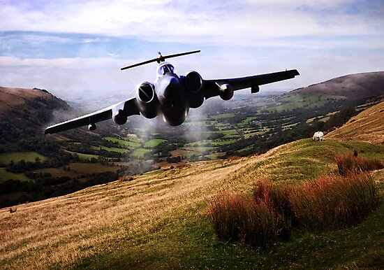 Low level Buccaneer by Bob Martin