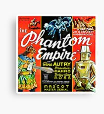 Vintage Science Fiction Robot Phantom Empire Canvas Print