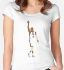 Russell Westbrook MVP Women's Fitted Scoop T-Shirt