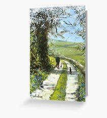 We will stop for tea and cake on the way back. Greeting Card