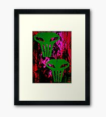 Spaced Invasion Framed Print
