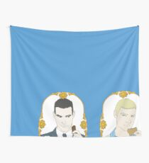 Tea Time - Trio Wall Tapestry