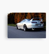 Fall Supra Rear Canvas Print