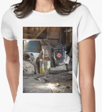 Room # 18 Womens Fitted T-Shirt