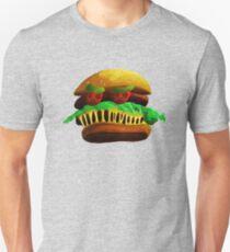 Angry Hamburger Unisex T-Shirt