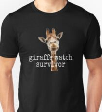 April The Giraffe Watch Survivor Unisex T-Shirt