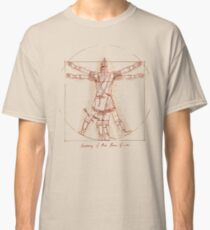 Anatomy of a Town Guard Classic T-Shirt