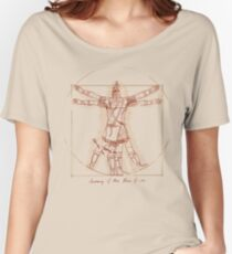 Anatomy of a Town Guard Women's Relaxed Fit T-Shirt