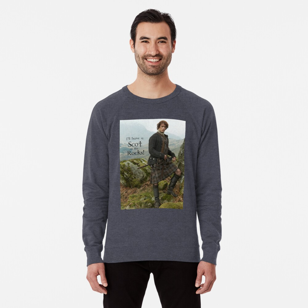 I'll have a Scot on the Rocks!  Lightweight Sweatshirt