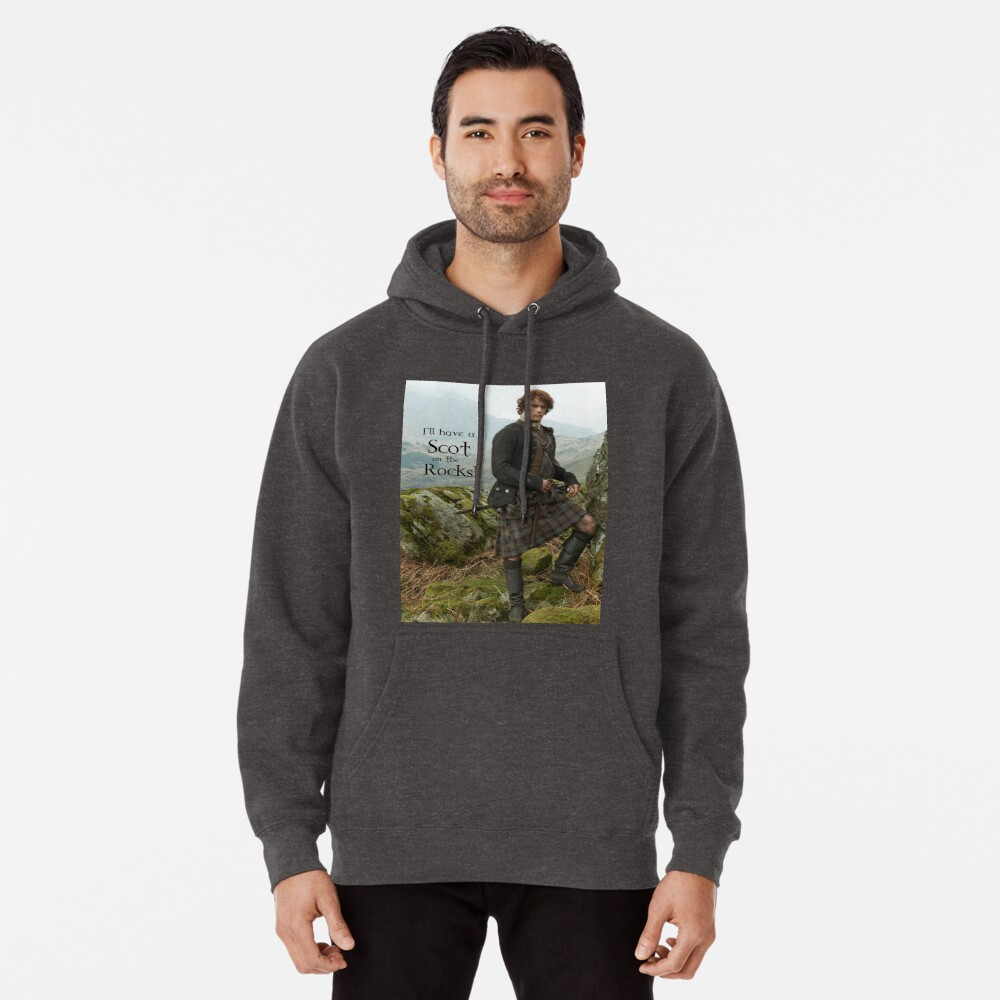 I'll have a Scot on the Rocks!  Pullover Hoodie