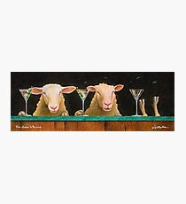 Will Bullas / three sheeps to the wind... Photographic Print