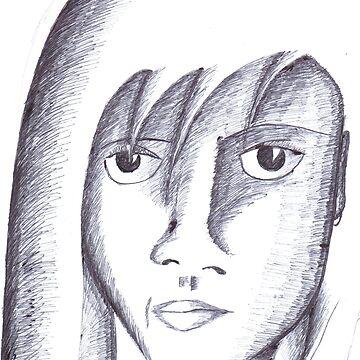 Girl of Shadow by ecbarre