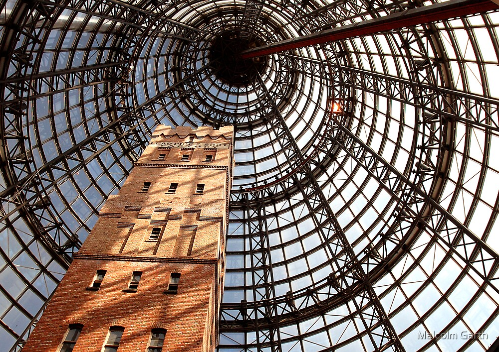 Melbourne Shot Tower by Malcolm Garth