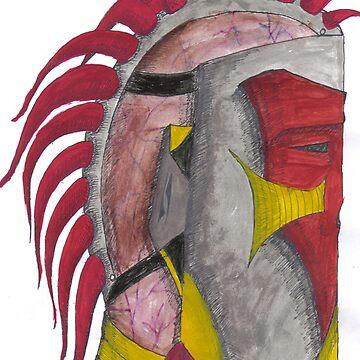 Metal Meets Flesh by ecbarre