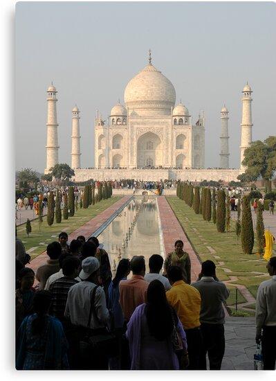 Taj Mahal by Malcolm Garth