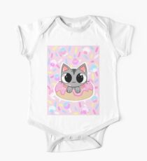 Donut Cat! One Piece - Short Sleeve