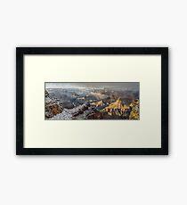 Grand Canyon Storm Framed Print