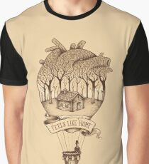 Feels Like Home Graphic T-Shirt
