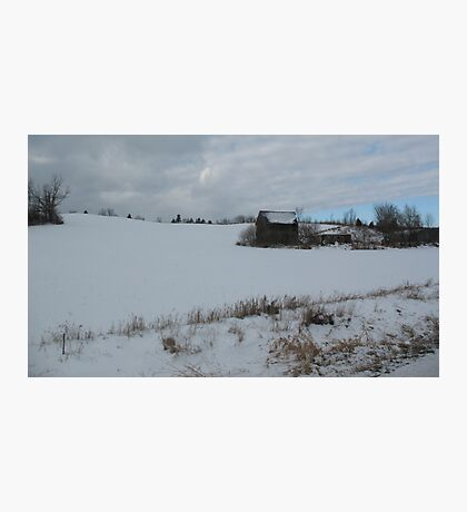 On A Winter's Day Photographic Print