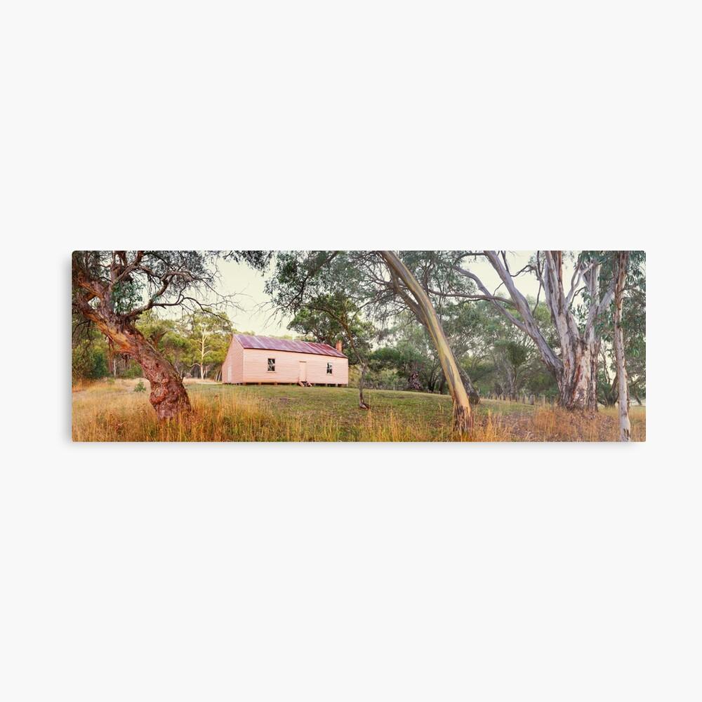 Long Plain Hut, Kosciuszko National Park, New South Wales, Australia Metal Print