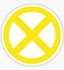 X Logo Sticker