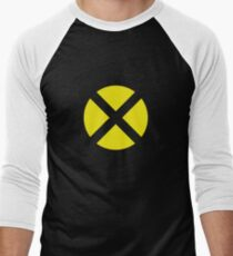 X Logo Men's Baseball ¾ T-Shirt