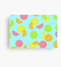 Lemons and Limes and Oranges Oh My! Canvas Print