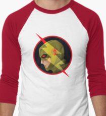 Eobard Thawne : Reverse Flash Men's Baseball ¾ T-Shirt