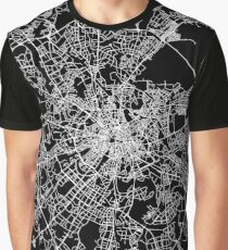 Moscow Street Network Graphic T-Shirt