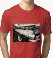 Fins - Black Belair Tri-blend T-Shirt