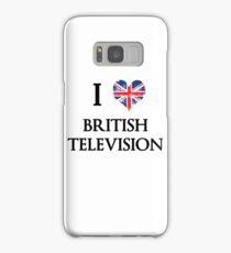 I Love British Television Samsung Galaxy Case/Skin
