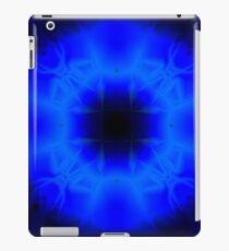 Blue streaks iPad Case/Skin