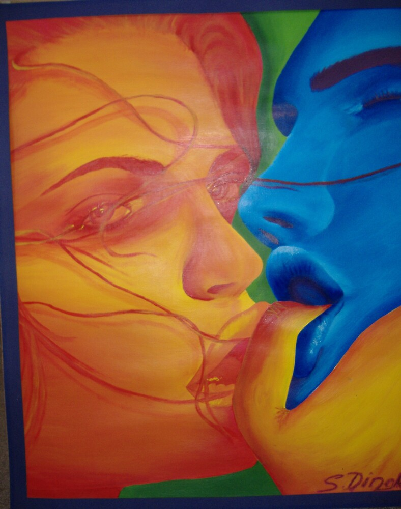 kiss by shaedingle
