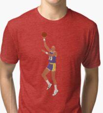 Kareem Abdul-Jabbar Skyhook Tri-blend T-Shirt