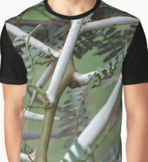 Thorns of the Acacia karroo (Vachella karroo) Graphic T-Shirt