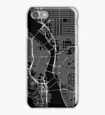 Portland Street Map iPhone Case/Skin