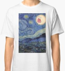 Starry Night rick and morty sun  Classic T-Shirt